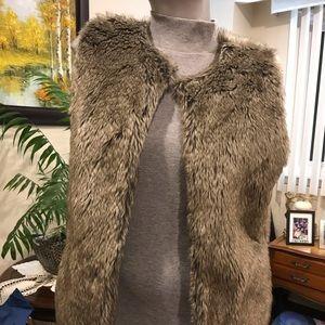 Practically New: Aldo faux Fur vest